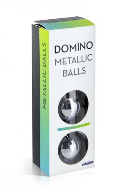 Bolas Vaginais em metal Domino Metallic Balls