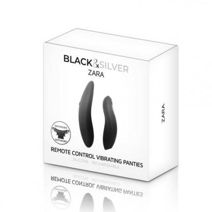 Cueca com Vibração Black & Silver Zara