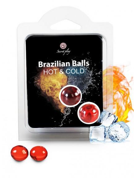 Brazilian Balls Hot & Cold - Efeito Calor & Frio