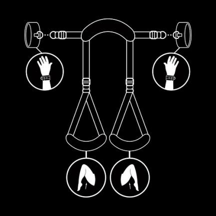 Fetish Submissive - Neck, Handcuffs & Leg Belt