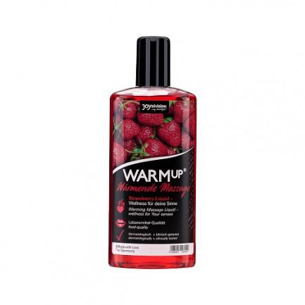 Óleo de Massagem Joydivision Warmup Morango 150 ml