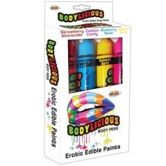 Bodylicious Body Pens - 4 Sabores