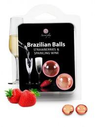Brazilian Balls Morango e Champanhe