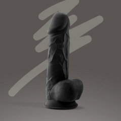 Dildo Crushious Premium Silicone Tessudo 8.5 Chocolate