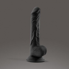 Dildo Crushious Premium Silicone Tessudo 9.5 Chocolate
