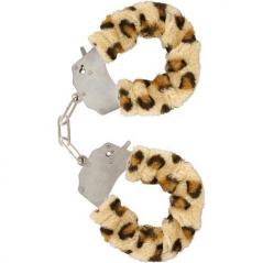 Algemas com Peluche Furry Fun Handcuffs Leopardo