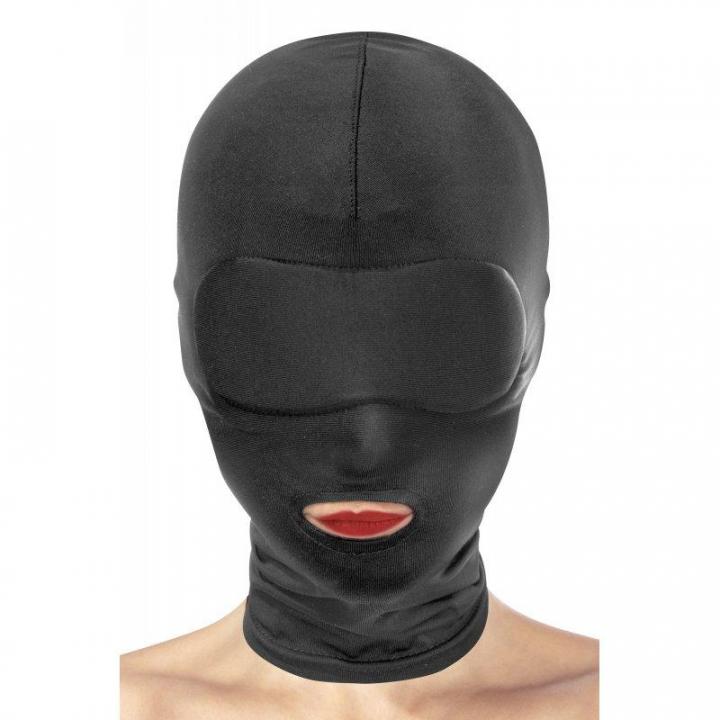 Máscara de Submissão Fetish Tentation - 1 Abertura